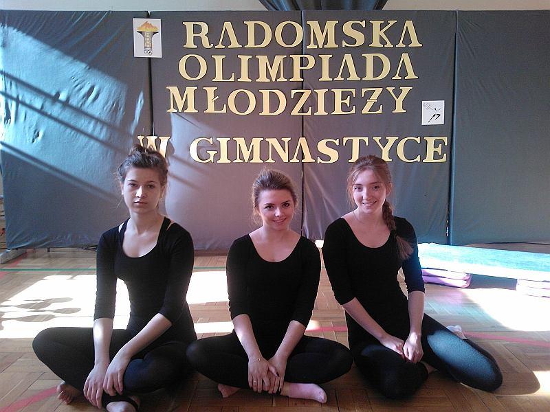 Radomska Olimpiada Młodzieży, gimnastyka