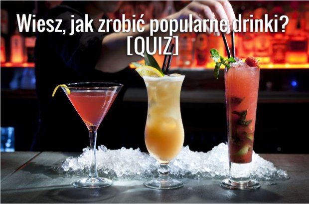 Grafika do quizu o drinkach