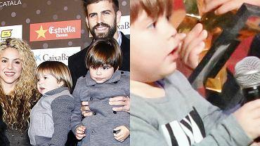 Gerard Pique, Shakira i ich dzieci: Sasha, Milan