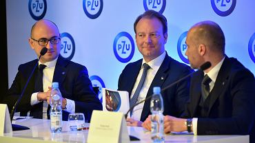 Konferencja prasowa dot. wyników finansowych grupy PZU. Warszawa, 15 marca 2018