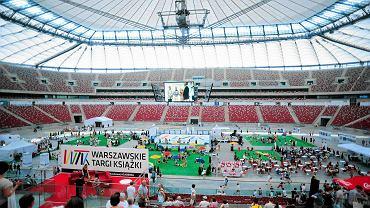 Warszawskie Targi Książki na Stadionie Narodowym w 2014 roku