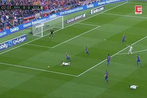 Primera Division. FC Barcelona - Real Madryt. Gol Ramosa  w 90. minucie. [ELEVEN SPROTS NETWORK]