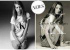 """Historia zatacza ko�o. Tym razem, po 22 latach, w kampanii Calvin Klein Jeans wyst�puje """"mini Kate"""". Czy Lottie powt�rzy sukces starszej siostry?"""