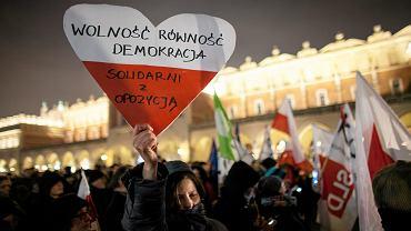 Manifestacja w Krakowie (20.12.2016)