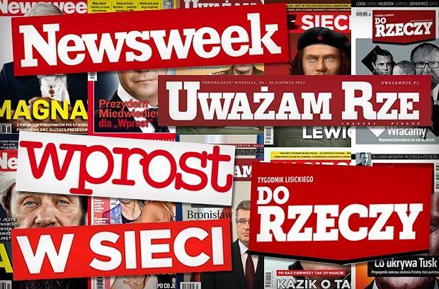 """""""Polityka"""" wyprzedza """"Newsweek"""", sprzeda� """"Do Rzeczy"""" spada o 30 proc. Tygodniki we wrze�niu"""
