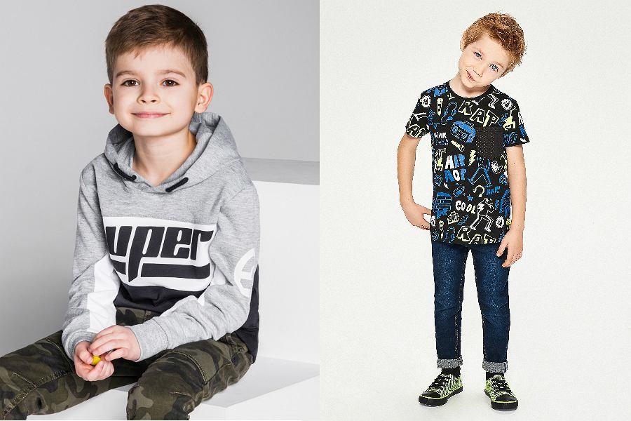 oryginalne ubrania dla chłopców