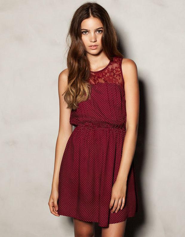 Bordowe Sukienki Do 200 Zł Ponad 40 Propozycji