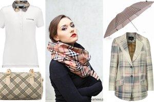 Pomysł na prezent - ubrania i dodatki inspirowane kratką Burberry