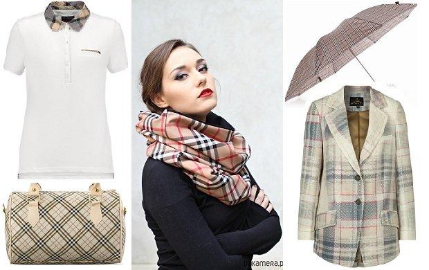 Pomys� na prezent - ubrania i dodatki inspirowane kratk� Burberry
