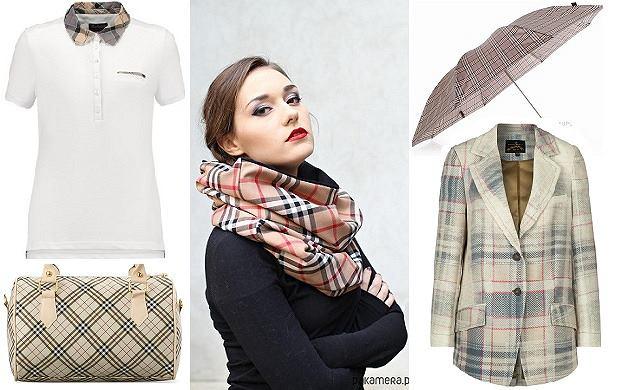 84fed40d4259a Pomysł na prezent - ubrania i dodatki inspirowane kratką Burberry