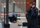 """Zabity przez terroryst�w policjant nazywa� si� Ahmed Merabet. """"By� muzu�maninem"""", """"To czarna ironia losu"""""""