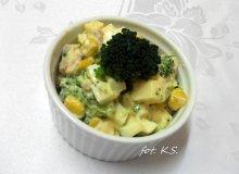 Sałatka brokułowa z czosnkiem - ugotuj