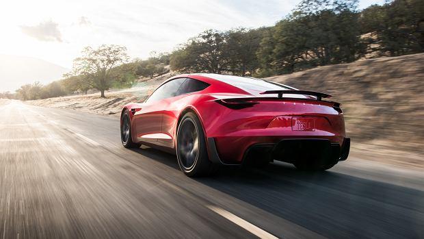 """Elon Musk znowu szokuje. Oto nowa Tesla Roadster - """"najszybsze produkcyjne auto świata"""""""