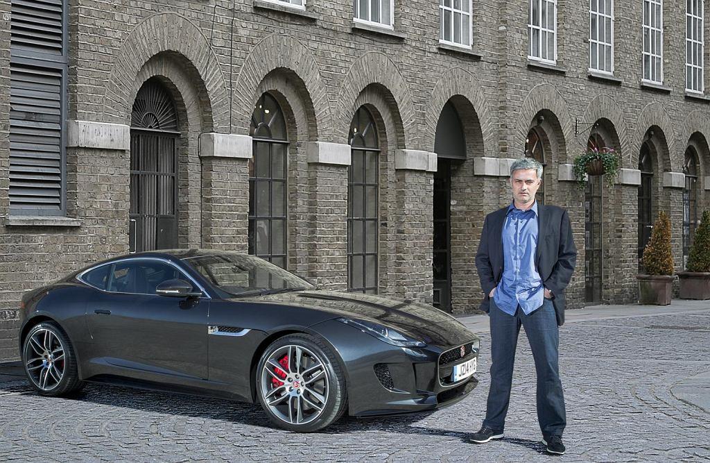 Jaguar F-Type R Coupe Jose Mourinho
