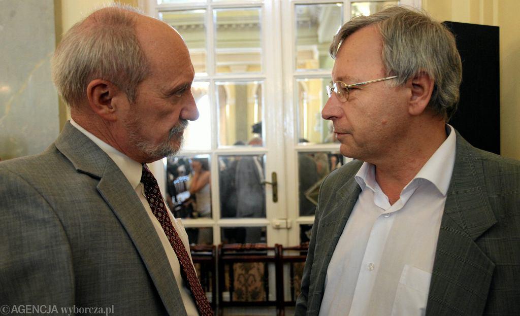 Antoni Macierewicz i Jan Parys