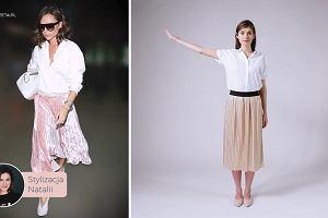 Dress for Less odc. 18 - Victoria Beckham w plisowanej midi