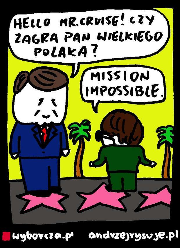 Andrzej Rysuje   B�aszczak �ci�ga z Hollywood -  -