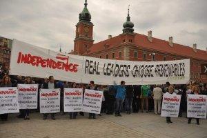 BOR udaremni� akcj� Greenpeace'u przed przem�wieniem Obamy