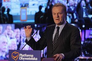 Tusk mobilizuje parti�, Gowina bol� korzonki [RELACJA Z RADY KRAJOWEJ PO]
