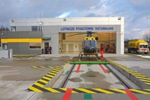 Nowa baza LPR. Helikopterem szybciej do ofiar wypadków