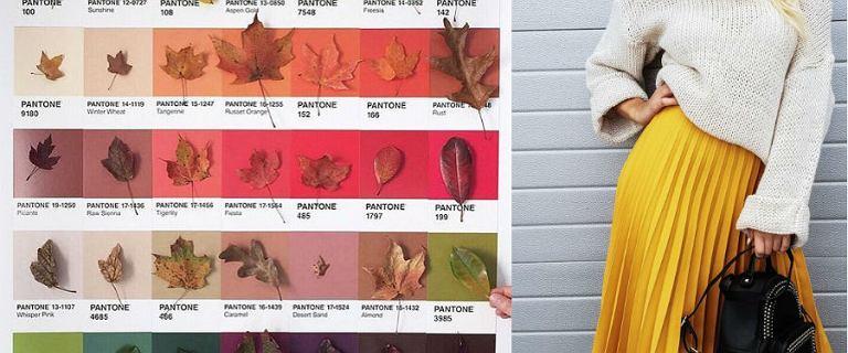 Kolorowe spódnice na jesień