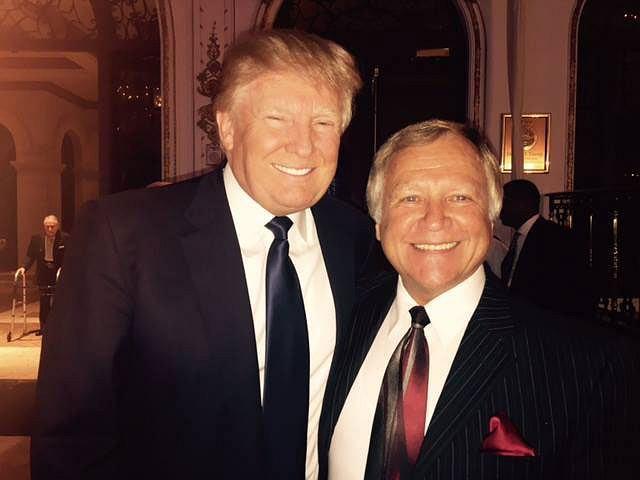 Jan Lewan i Donald Trump