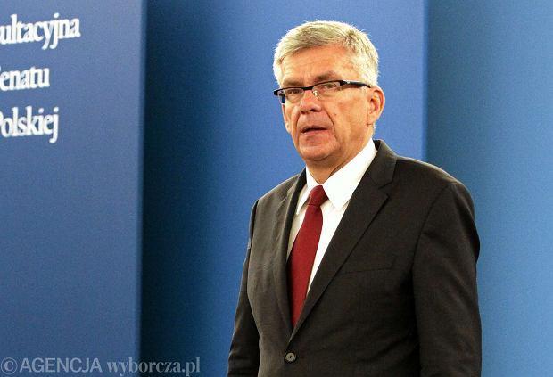 Karczewski o aborcji: Z projektem Senatu poczekamy na wyniki prac nad ustawą w Sejmie