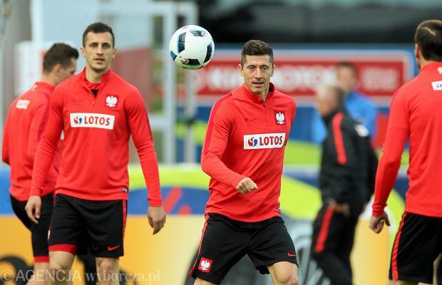 Trening reprezentacji Polski podczas Euro 2016.