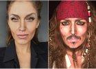 Johnny Depp, Angelina Jolie i... Donald Trump? Zobacz niesamowite makijażowe metamorfozy
