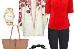 Marynarka w kwiaty w 4 modnych stylizacjach