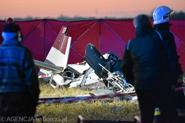 Новости Польши - катастрофа частного самолета