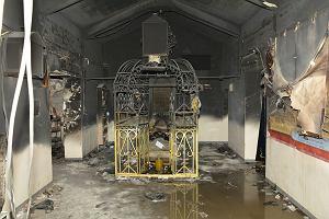 Tysiące chasydów w Leżajsku. W  nocy zapaliła się nawa boczna grobowca cadyka Elimelecha