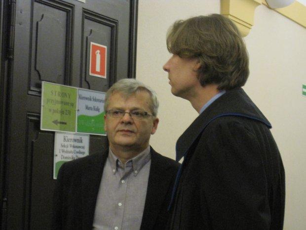 Syn Violetty Willas Krzysztof Gospodarek z pełnomocnikiem