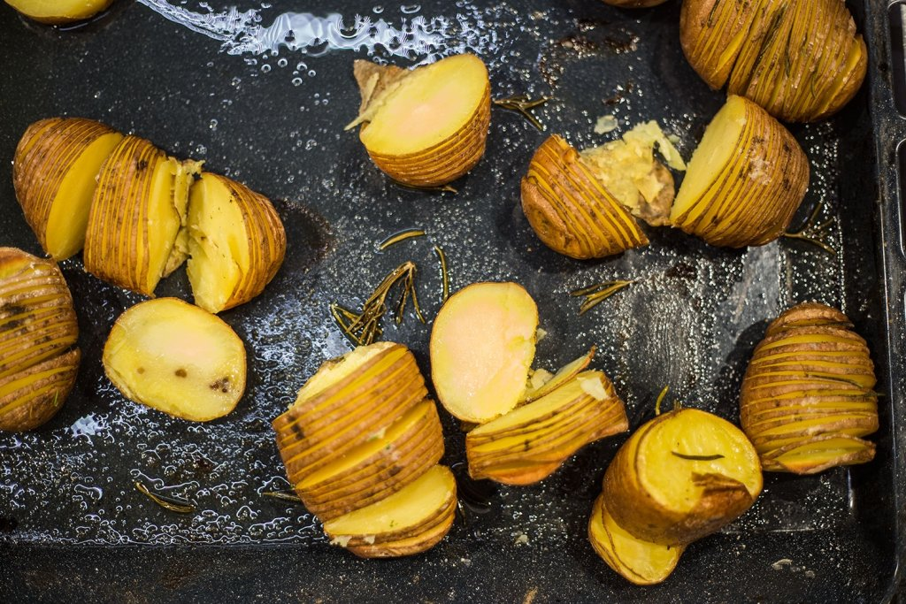 Pieczone ziemniaki, Fot. Joanna Matyjek, www.odczarujgary.pl