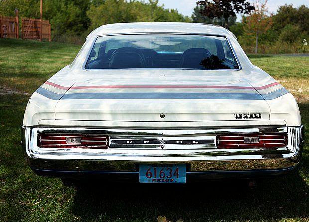 Auto napędzane było 6,4-litrowym silnikiem V8 o mocy 340 KM