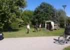 Pościg za koniem w centrum Kielc. Uciekał przez dwie godziny [ZDJĘCIA]