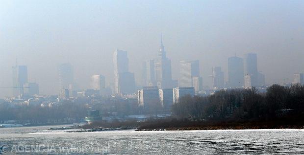 09.09.2017 r. Smog nad Warszawą