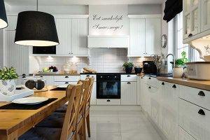 Czarne Dodatki Do Kuchni Wnętrzaaranżacje Wnętrz Inspiracje