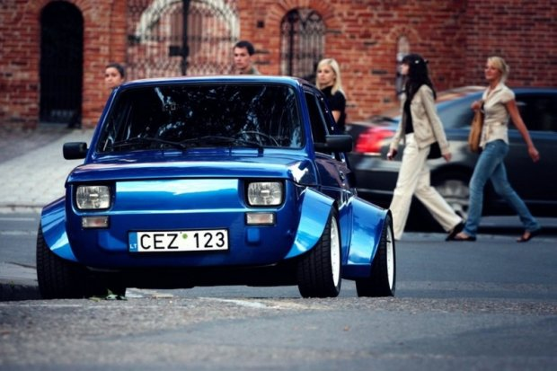 "Fiat 126p | Malar ""VTEC just kicked in yo"""