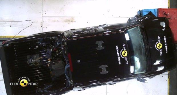 Nissan NP300 Navara testy Euro NCAP