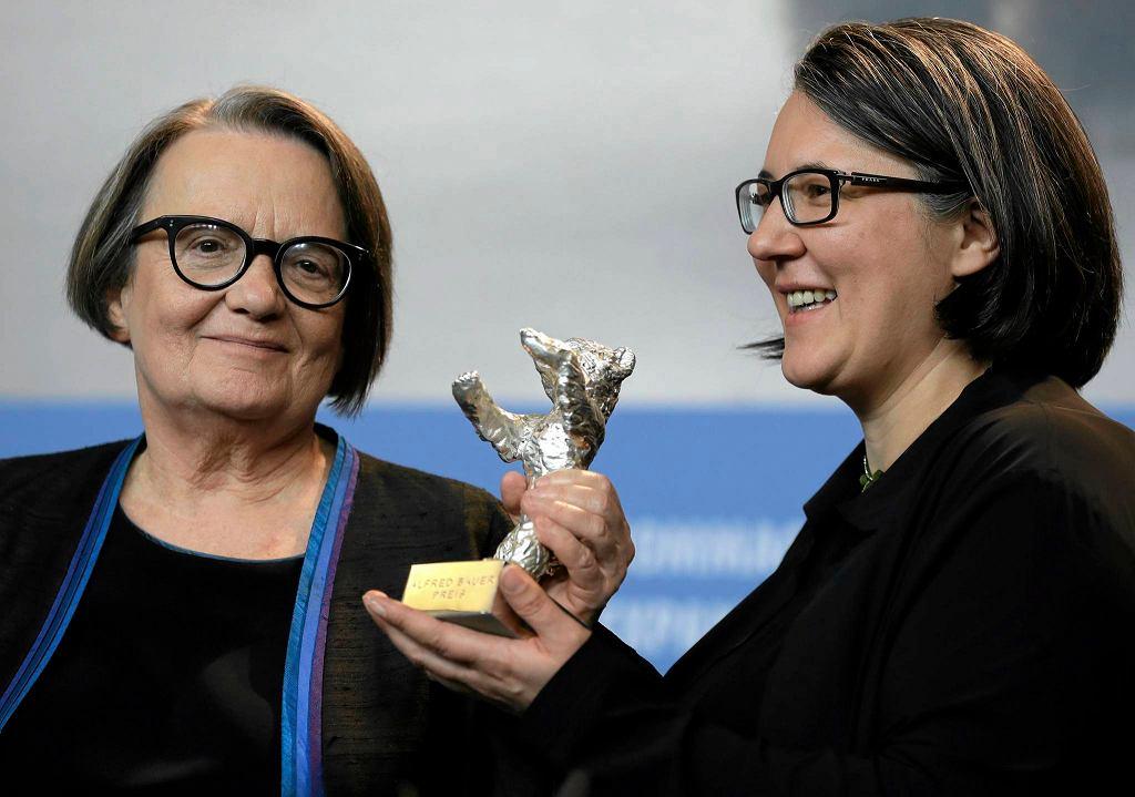 Agnieszka Holland z córką Kasią Adamik podczas tegorocznego Berlinale