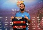 Primera Division. S�d UE: herb FC Barcelona nie jest mark�