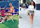 Kobiece stylizacje najlepszej polskiej tenisistki. W czym chodzi Radwańska poza kortem?