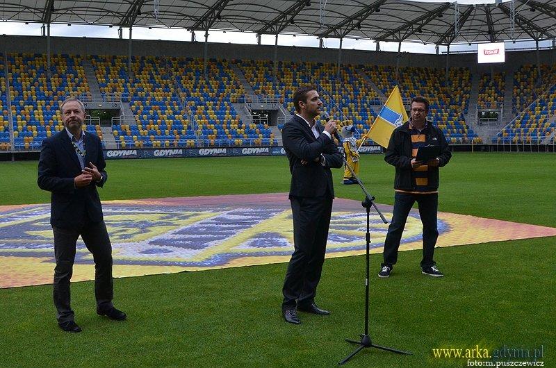 Tomasz Banel po lewej