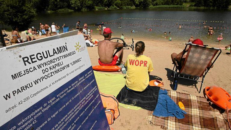 Ratownicy WOPR w Częstochowie