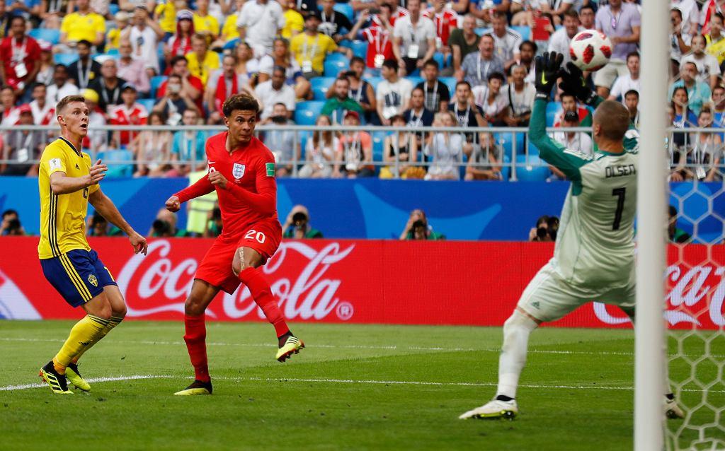 Szwecja - Anglia 0:2