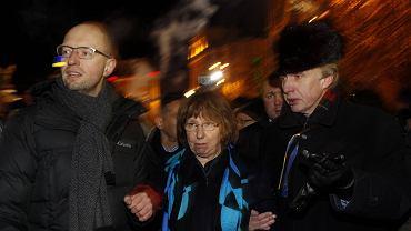 Catherine Ashton na Euromajdanie