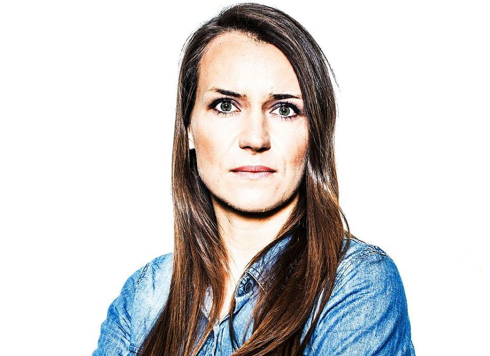 Agnieszka Pomaska: Spotkaliśmy posła Kaczyńskiego, który szykował się do opuszczenia Sejmu. Włączyłam nagrywanie, zapytałam, dlaczego niszczy Polskę. Wyrwał mi telefon.