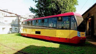 Zmodernizowany tramwaj 805 Na