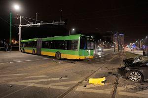 Wypadek na ul. Matyi. Siedmiu rannych, w tym pasa�erowie autobusu